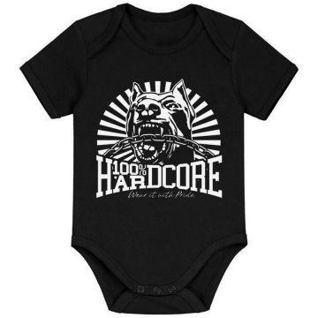 100% Hardcore Baby Strampler CLASSIC