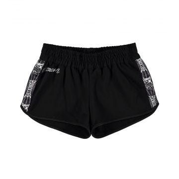 100% Hardcore dames hotpants WEAR IT WITH PRIDE | zwart