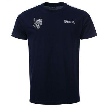 100% Hardcore T-shirt BRANDED | blauw