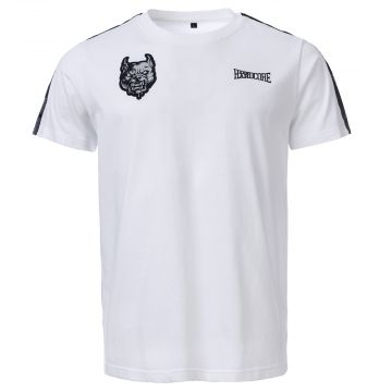 100% Hardcore T-shirt BRANDED | wit