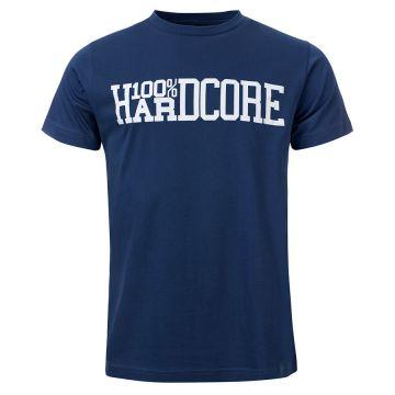 100% Hardcore T-shirt UNITED WE STAND | blauw