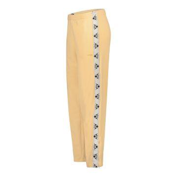 Cavello oldschool broek met glanzende bies en logo borduring | perzik 30