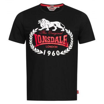 Lonsdale T-shirt ORIGINAL 1960 | zwart