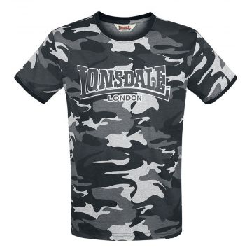 Lonsdale T-shirt Cobbett | camou grijs