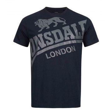 Lonsdale T-shirt Watton | navy blauw