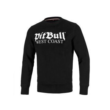Pit Bull crewneck old logo   zwart