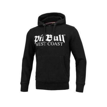 Pit Bull old logo hoodie   zwart