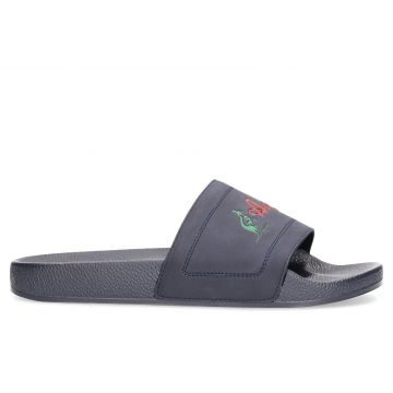 Australian slippers   logo traditioneel X navy