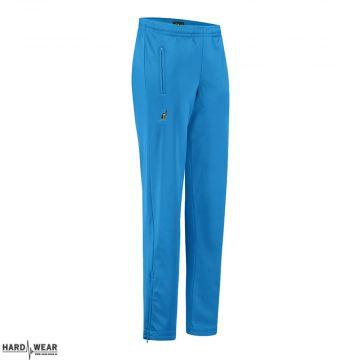 Australian broek uni met 2 ritsen   capri blauw