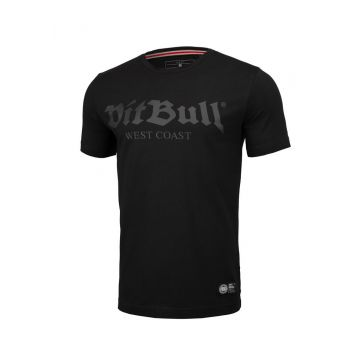 Pit Bull T-shirt slim fit old logo | zwart