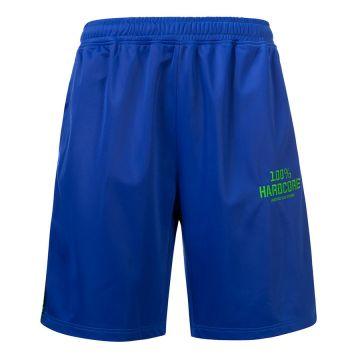 100% Hardcore korte broek met bies UNITED SPORT | blauw