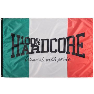 100% Hardcore vlag Italia