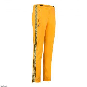 Australian broek met 2 ritsen en gouden bies 2.0 | sunflower yellow