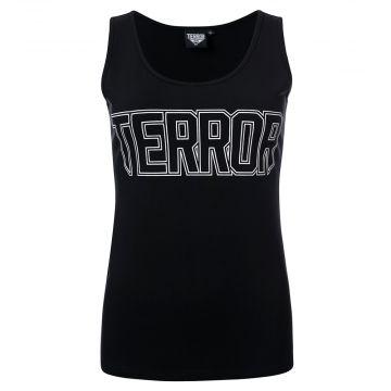 Terror Damen Unterhemd essential | schwarz