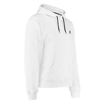 Australian hooded sweater zwarte rugbies 2.0 | wit