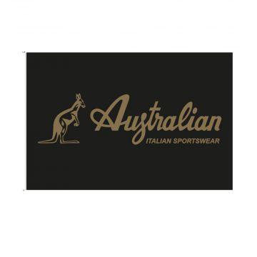 Australian vlag golden logo