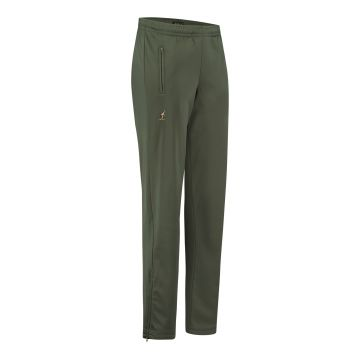 Australian broek uni met 2 ritsen   olijf groen