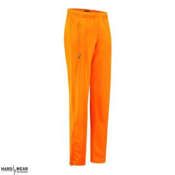 Australian broek uni met 2 ritsen   neon oranje