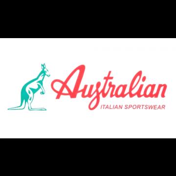 Australian vlag   logo ☓ wit