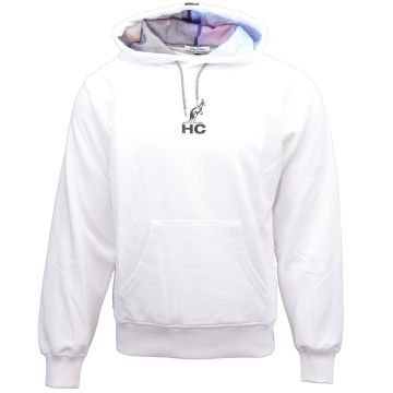 Australian hooded sweater Hard Court x apocalypse | wit