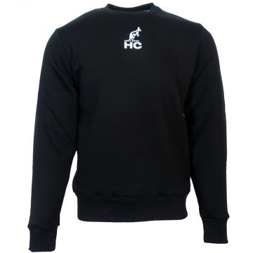 Australian Hardcourt trui met print patch geborduurd en HC logo | zwart