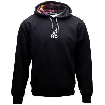 Australian hooded sweater Hard Court x apocalypse | zwart