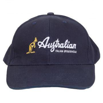Australian Sportswear baseball pet geborduurd logo | navy