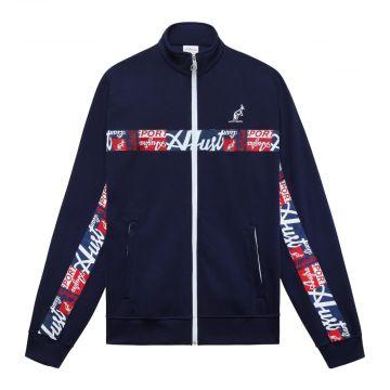 Australian sportswear vest abstracte logo bies   navy