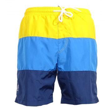 Australian zwembroek   geel - blauw 953