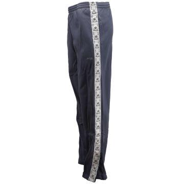 Cavello oldschool broek met zilveren bies en logo borduring | paars-grijs 26