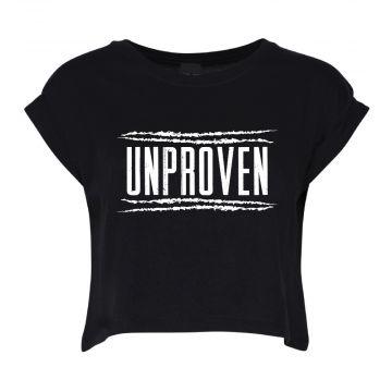 Unproven croptop logo   zwart