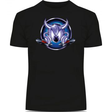 DJ Gizmo T-shirt Logo | zwart