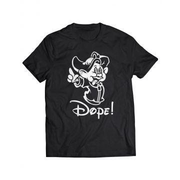 Hard-Wear T-shirt Dope! ☝ | zwart