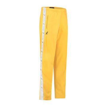 Australian broek met 2 ritsen en witte bies 2.0 | sunflower yellow