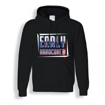 Hard-Wear hooded sweater Early Hardcore 1992 | zwart