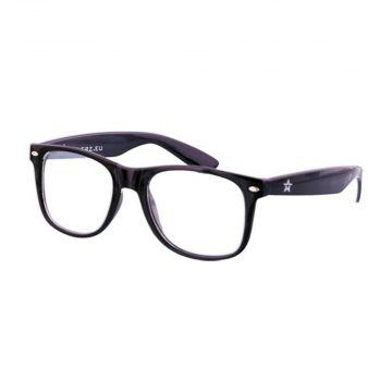 Festival/Gabber spacebril | zwart