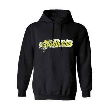 Hard-Wear x Graffiti Hooded Sweater Gabberina | zwart
