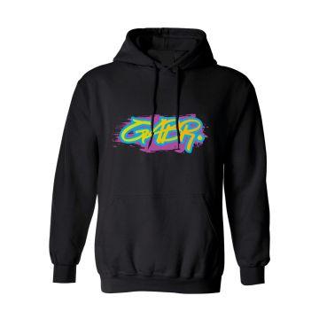 Hard-Wear x Graffiti Hooded Sweater GABR. | zwart