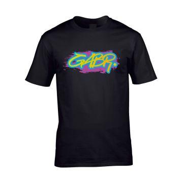 Hard-Wear x Graffiti T-shirt GABR. | zwart