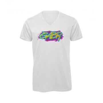 Hard-Wear T-shirt GABR graffiti-editie | wit