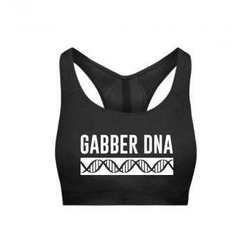 Hard-Wear Dames Sporttop DNA | zwart