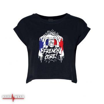 Hard-Wear Frenchcore croptop | blindfolded