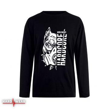 Hard-Wear Longsleeve Hardcore Worldwide! | zwart
