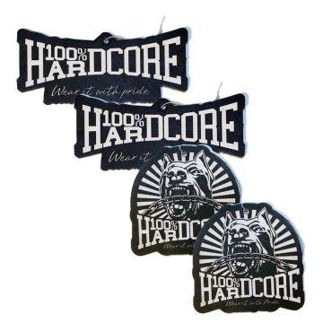 100% Hardcore Auto-Lufterfrischer (4er-Set)