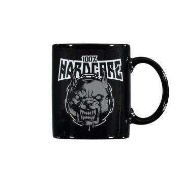 100% Hardcore mok RAGE [aan 2 kanten bedrukt] | zwart