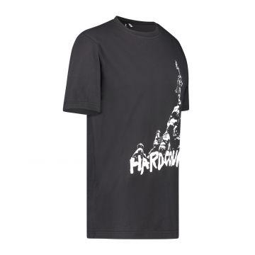 Australian Hard Court T-shirt the climb artwork op voorkant | zwart