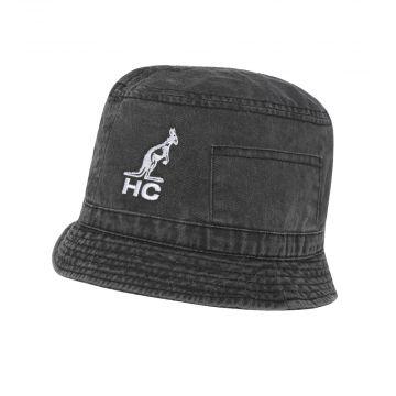 Australian vissershoedje HC logo borduurwerk | zwart