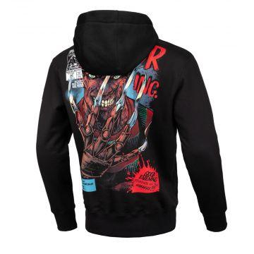 Pit Bull hooded sweater blade   zwart
