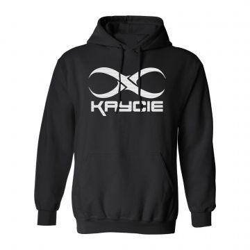 Kaycie hooded sweater logo   zwart