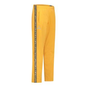 Australian broek met gouden bies en 2 ritsen   sunflower yellow